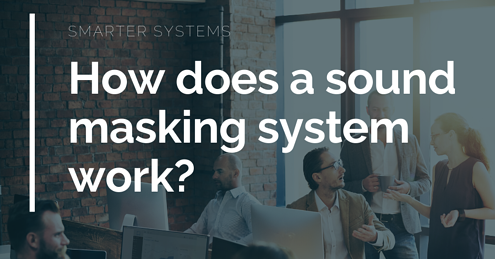 How does a sound masking system work