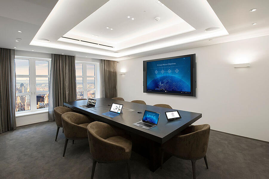 Integrated Conference Room with Crestron