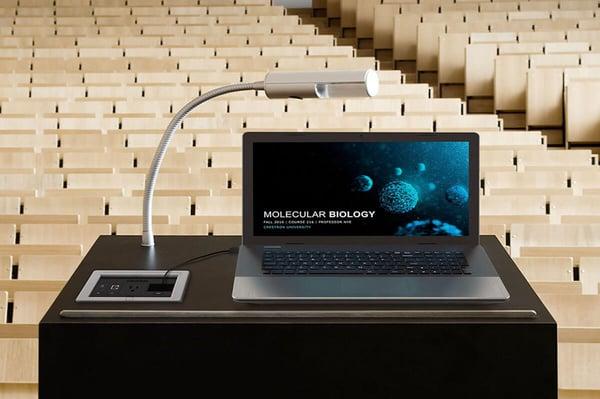Integrated Auditorium with Flip Tops -1