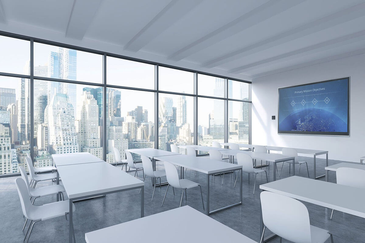 Integrated Training Room with Crestron