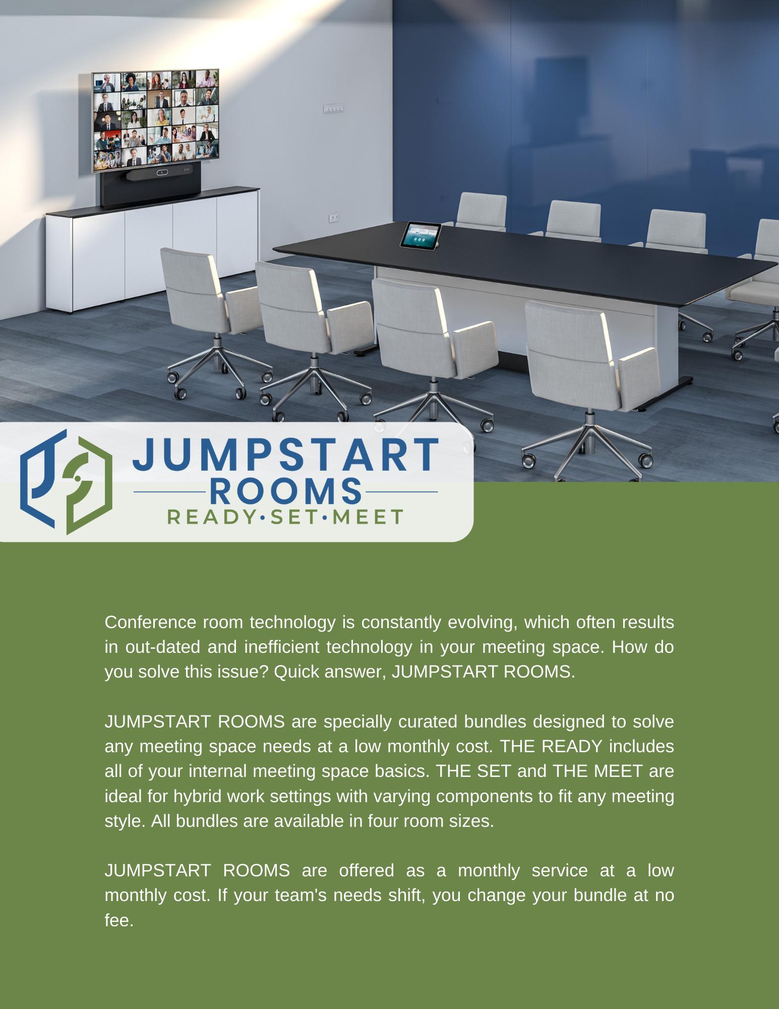 JUMPSTART ROOMS Product Sheet -Image