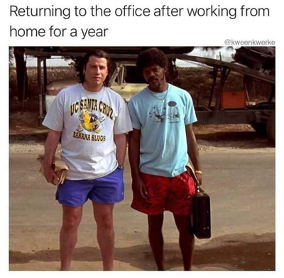 Return to Work Meme