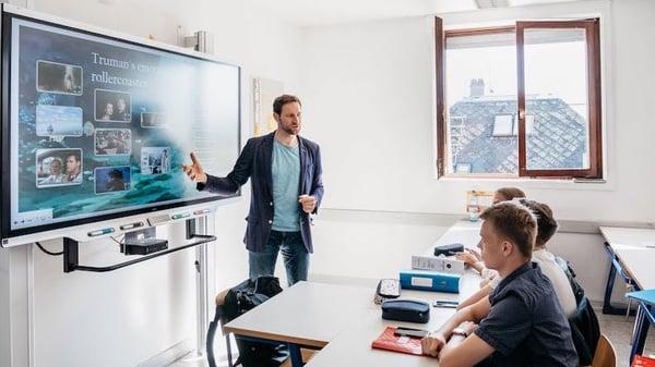 SMART Board in the classroom