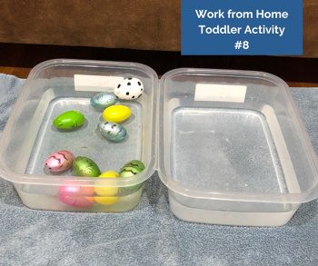 Work from Home Toddler Activity #8
