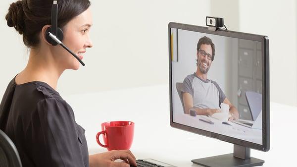 Logi Tech C930E-webcam video conferencing