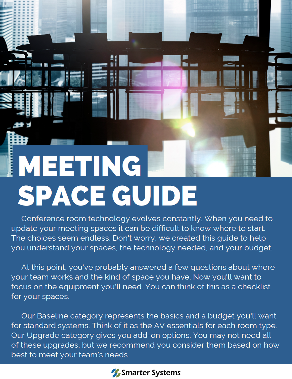 Smart Systems Meeting Space Guide